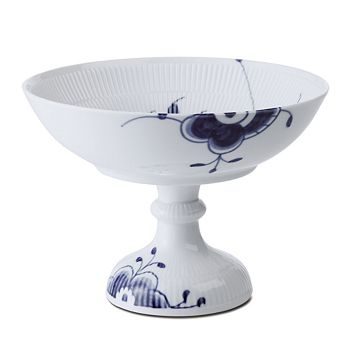 Royal Copenhagen - Blue Fluted Mega Footed Bowl