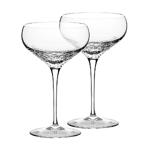 Vera Wang Wedgwood Sequin Saucer Champagne Glass, Set of 2