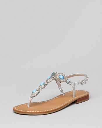 12694956a4e769 IVANKA TRUMP - Flat Thong Sandals - Pepe
