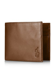 Polo Ralph Lauren - Burnished Leather Billfold Wallet