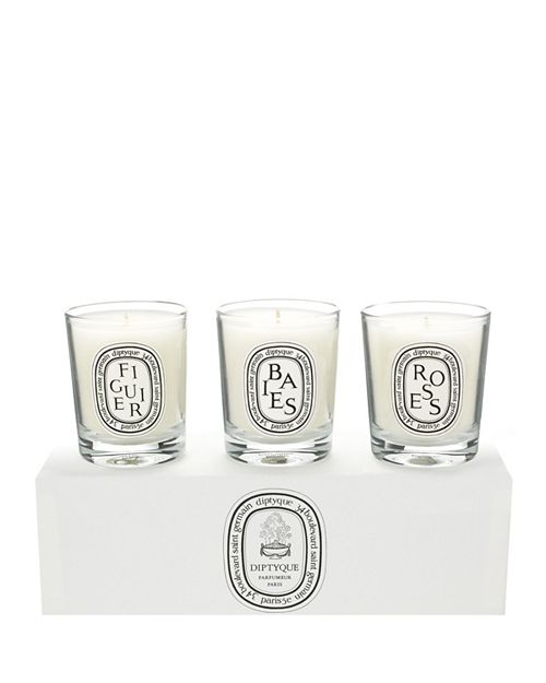 Diptyque - Baies, Figuier, Roses Candle Set