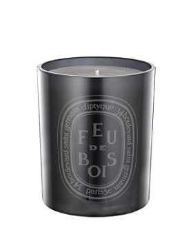 diptyque - Feu de Bois Scented Candle, Colored Glass Jar