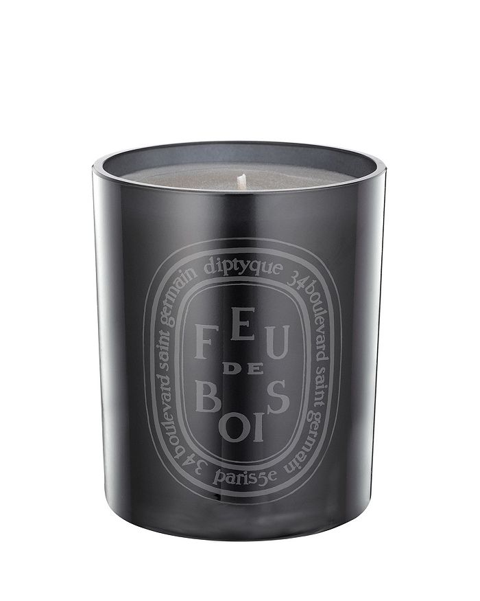 diptyque - Feu de Bois Scented Candle, Colored Glass Jar