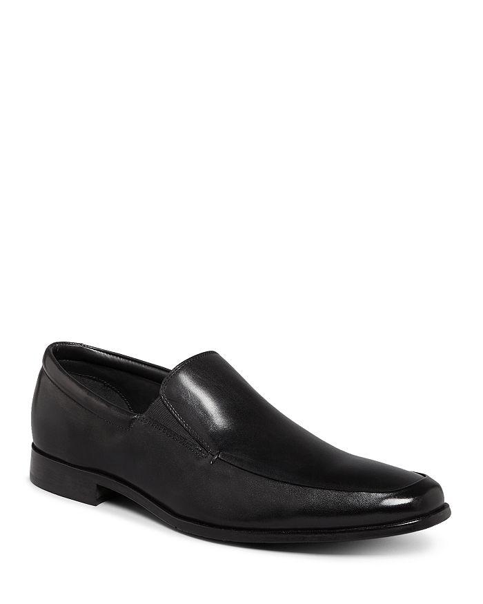 Gordon Rush - Men's Elliot Leather Apron Toe Loafers