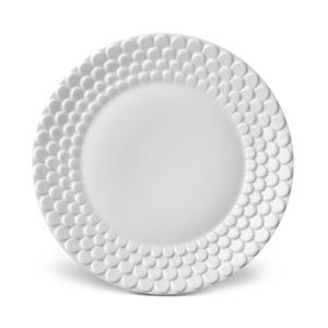 L'Objet Aegean White Dessert Plate