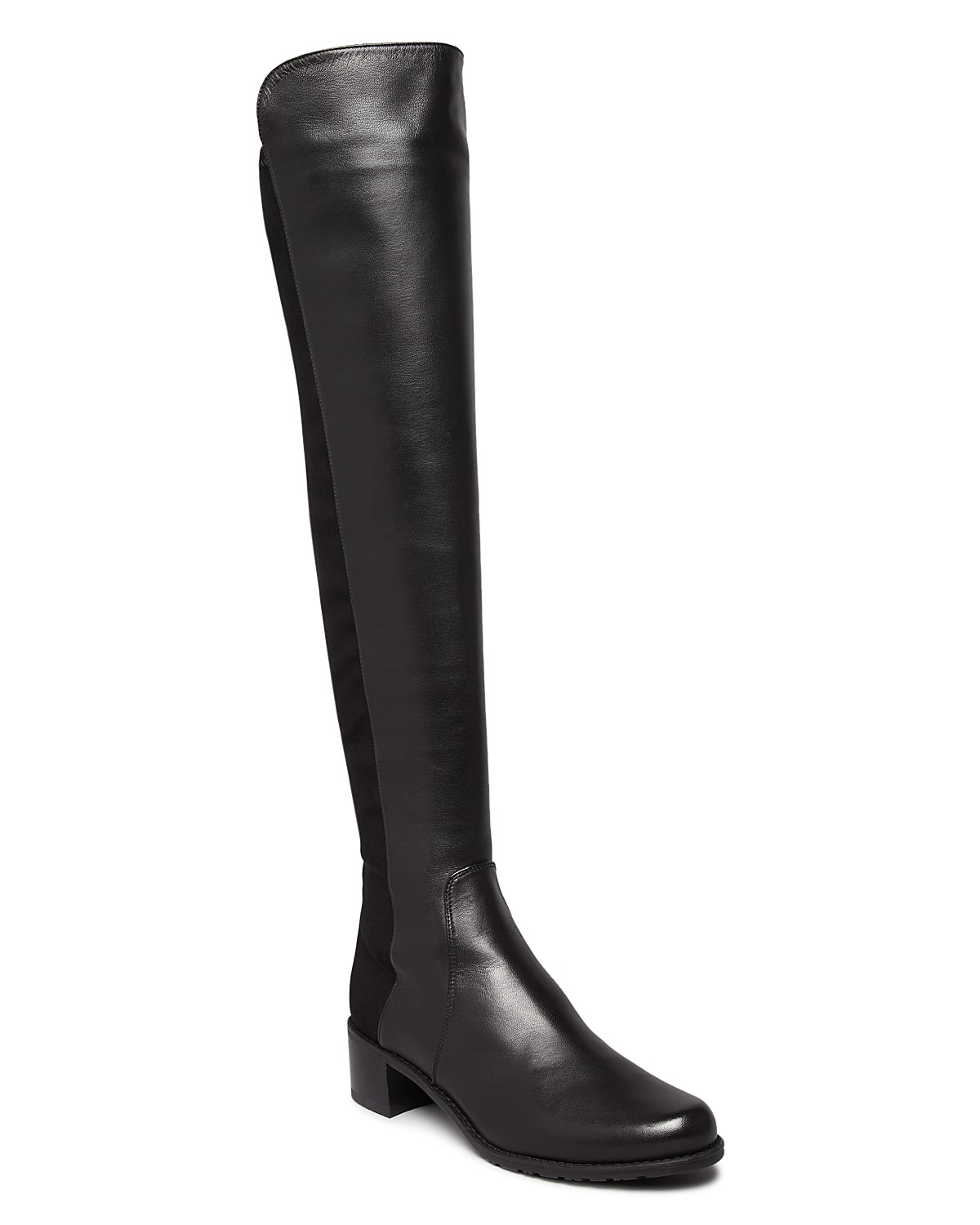 Stuart Weitzman Reserve Leather Over-the-Knee Boot (Women's) Qs93IIUTrJ
