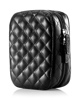 Trish McEvoy - Deluxe Makeup Planner®, Classic Black Quilted Petite