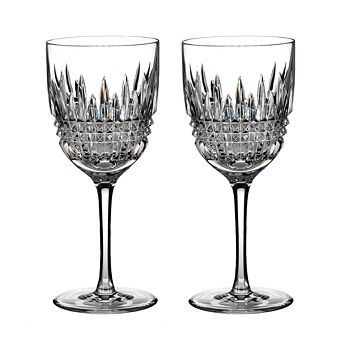 Waterford - Lismore Diamond Goblet, Set of 2