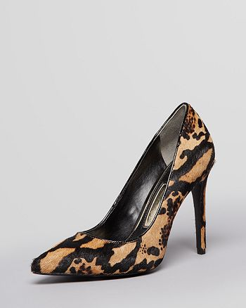 Boutique 9 - Pointed Toe Pumps - Migs Leopard Print