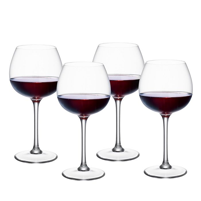 Villeroy & Boch - Purismo Red Wine Full Bodied Glass, Set of 4