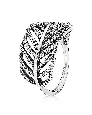 Pandora - Sterling Silver & Cubic Zirconia Light as a Feather Ring