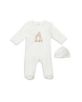 Little Me - Unisex Giraffe Friend Footie & Hat Set - Baby
