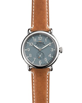 Shinola - The Runwell Brown Strap Watch, 41mm