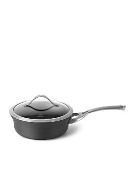 Calphalon - Contemporary Nonstick 2.5-Quart Shallow Saucepan & Lid