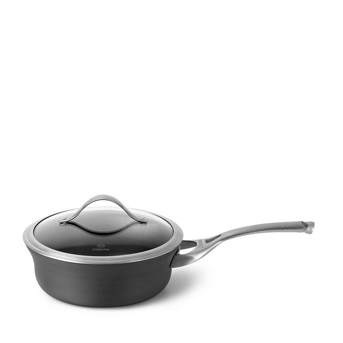 Calphalon - Contemporary Nonstick 2.5-Quart Shallow Saucepan & Lid