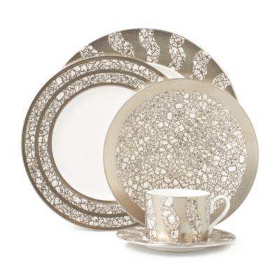 Tempio Luna Gold Oval Platter