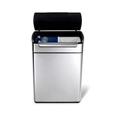 Simplehuman 46-Liter Touch-Bar Recycling Can - Bloomingdale's Registry_0