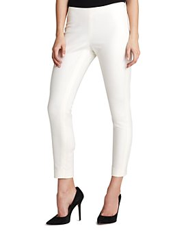 VINCE CAMUTO - Side-Zip Cropped Skinny Pants