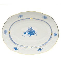 Herend Chinese Bouquet Blue Platter - Bloomingdale's_0
