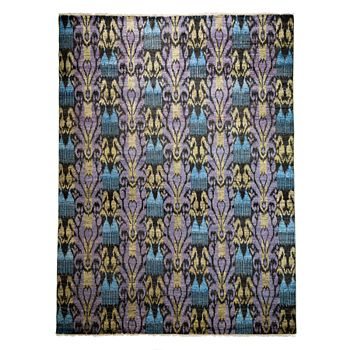 """Bloomingdale's - Ikat Collection Oriental Rug, 9'1"""" x 12'2"""""""