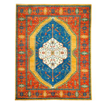 "Solo Rugs - Adina Collection Oriental Rug, 8'1"" x 9'10"""