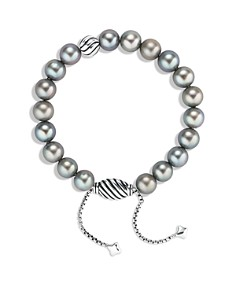 David Yurman - Spiritual Beads Bracelet with Gray Pearls