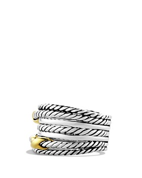 David Yurman - Double X Crossover Ring