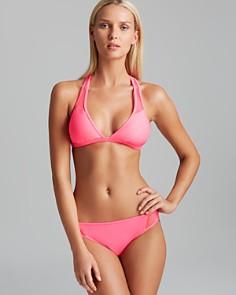Juicy Couture Black Label - Pro Mesh Racerback Bikini Top