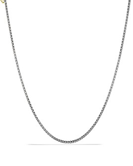 David Yurman - Small Box Chain with Gold