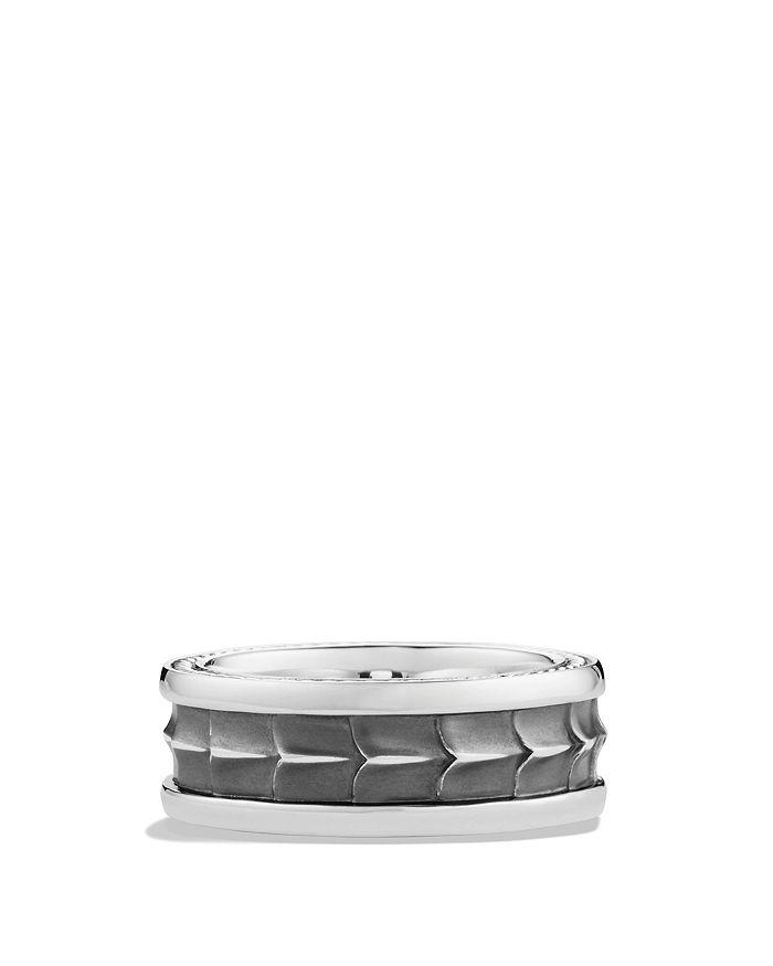 David Yurman - Armory Narrow Band Ring
