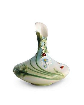 Franz Collection - Ladybug Mid-Size Vase