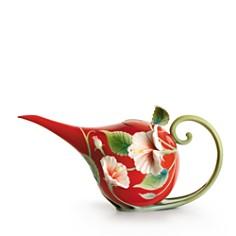 Franz Collection - Island Beauty Hibiscus Flower Teapot