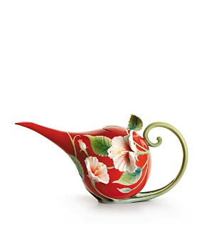 Franz Collection - Island Beauty Hibiscus Flower Teapot