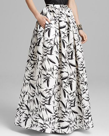 Alice and Olivia - Abella Ball Maxi Skirt