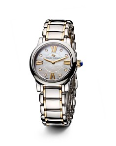 David Yurman Classic 30mm Stainless Steel Quartz with Diamond Markers & Gold - Bloomingdale's_0