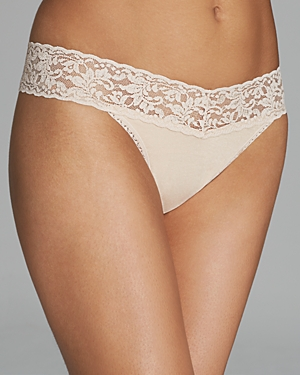 Hanky Panky Cotton with a Conscience Original-Rise Thong