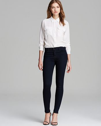 J Brand - Equipment Blouse &  Jeans