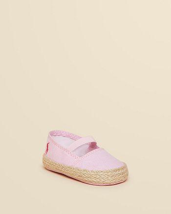 69ddf7f86 Ralph Lauren Infant Girls' Bowman Espadrille - Baby | Bloomingdale's