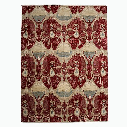 Bloomingdale's - Ikat Collection Oriental Rug, 9' x 12'4""