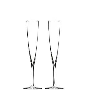 Waterford - Elegance Champagne Trumpet Flute, Pair