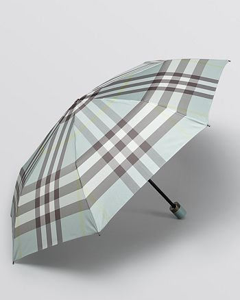 1854420094c4 Burberry - Trafalgar Packable Check Umbrella