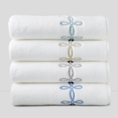 matouk classic chain matouk marlowe bath towels icon - Matouk Towels