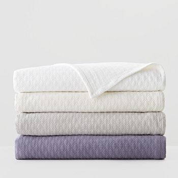 Vera Wang - Puckered Diamond Matelasse Coverlets