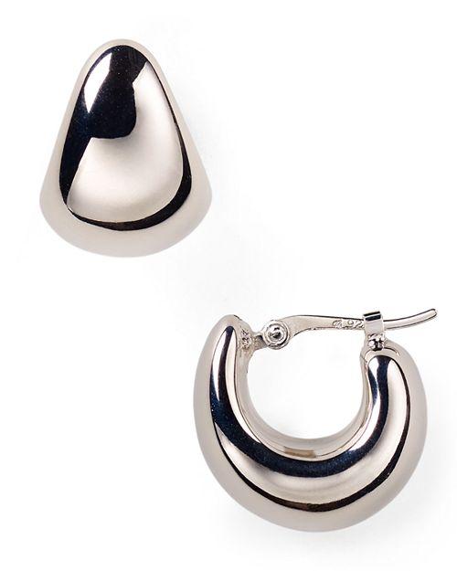 Bloomingdale's - Sterling Silver Huggie Hoop Earrings - 100% Exclusive