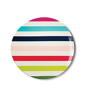 kate spade new york Melamine Dinner Plate, Multi Stripe