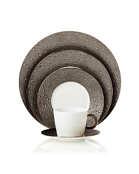 Bernardaud - Ecume Platinum Dinnerware Collection