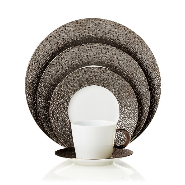 Bernardaud - Ecume Platinum Dinner Collection