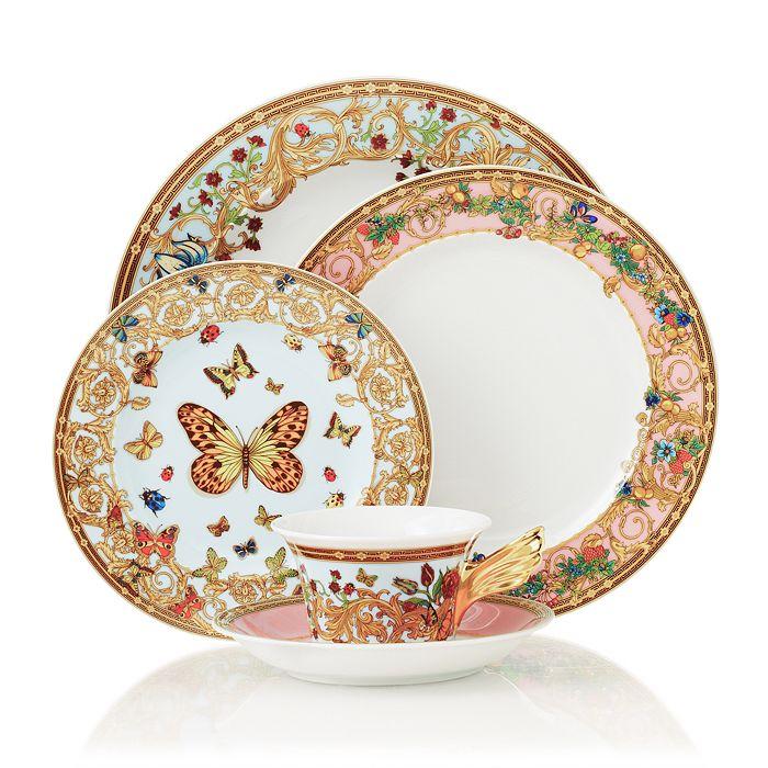 """Versace - By Rosenthal """"Butterfly Garden"""" Dinnerware"""