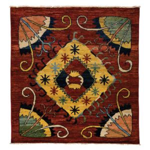 Kaitag Collection Oriental Rug, 6' x 6'2