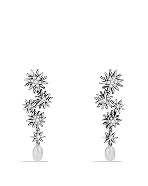Click here for David Yurman Starburst Pearl Cascade Earring with... prices